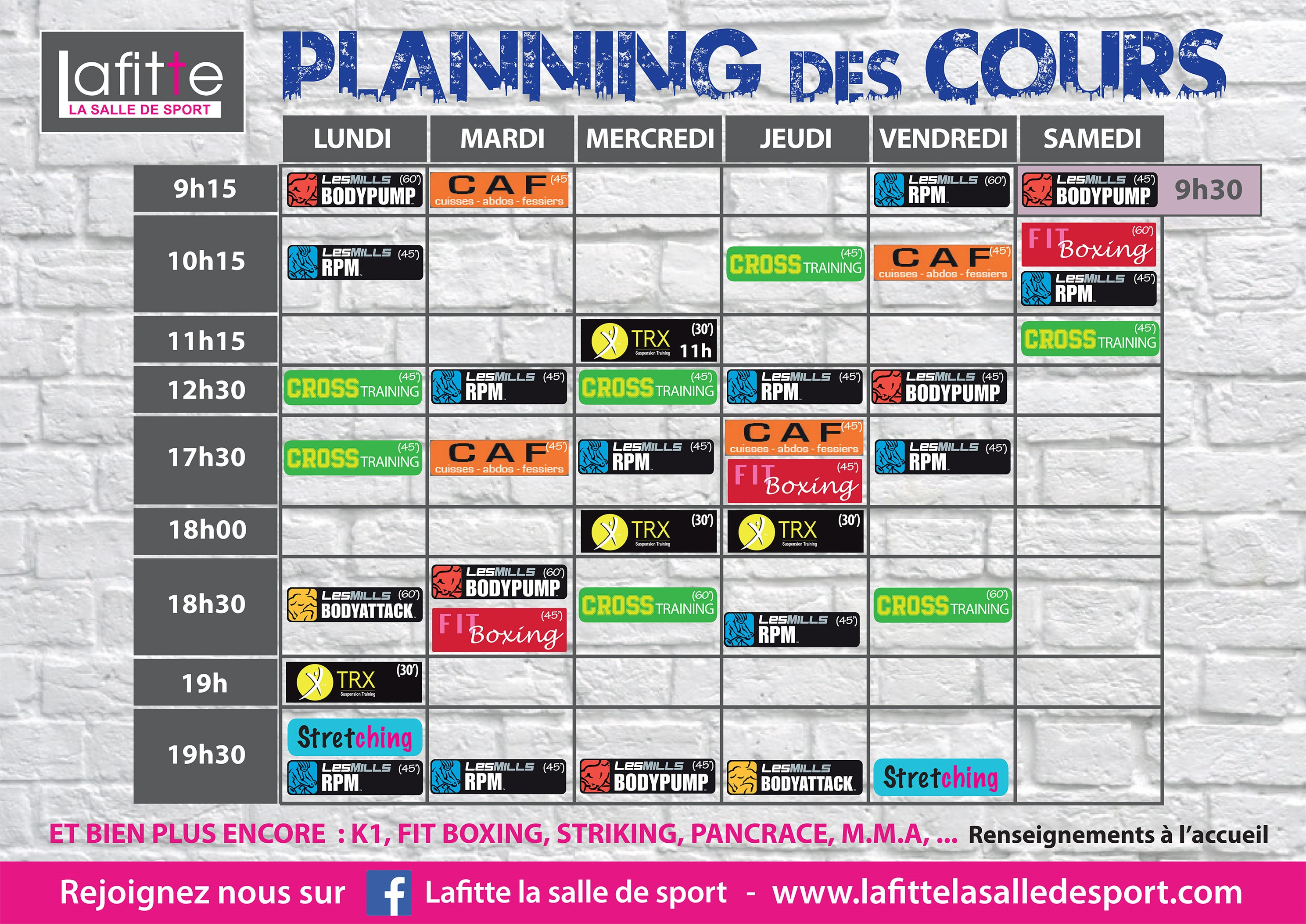 planning-fitness-musculation-cardio-lafitte-bayonne